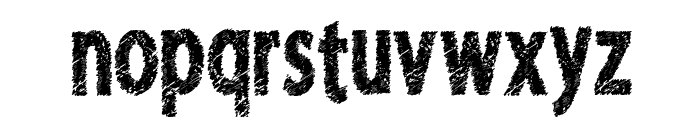 FreshRiot Font LOWERCASE