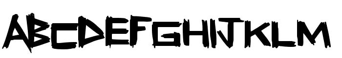 FreshSticks Font UPPERCASE