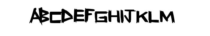 FreshSticks Font LOWERCASE