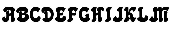 Freshwater-Classic Font UPPERCASE