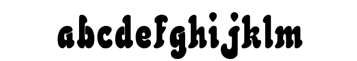 Freshwater-Classic Font LOWERCASE