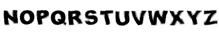 Fresnel Font UPPERCASE