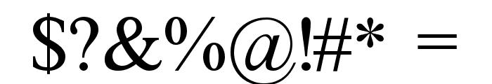 FretQwik Font OTHER CHARS