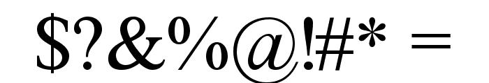 FretQwikC Font OTHER CHARS
