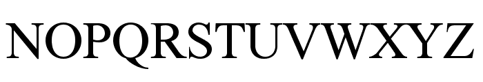 FretQwikC Font UPPERCASE
