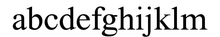 FretQwikC Font LOWERCASE