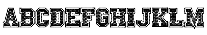 Friday Night Lights Font UPPERCASE
