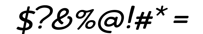 Friday October Twelve Italic Font OTHER CHARS