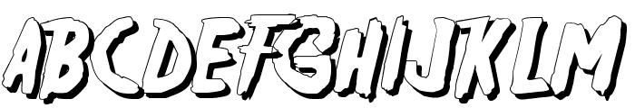 Friday13SH Font UPPERCASE