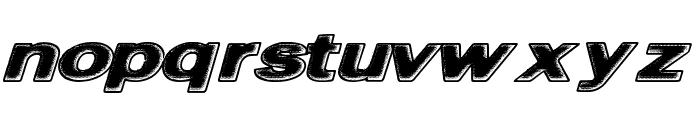 FriedBread Font LOWERCASE