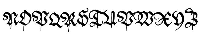 Friedolin Font UPPERCASE