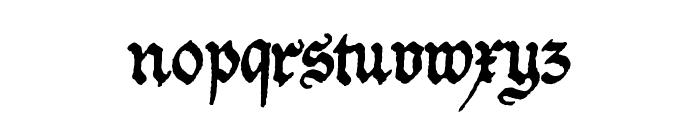 Friedolin Font LOWERCASE
