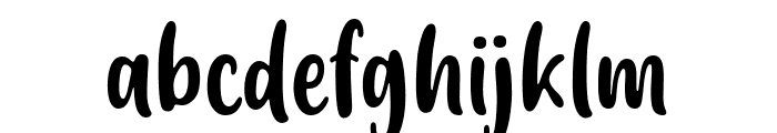 Friendly Schoolmates Font LOWERCASE