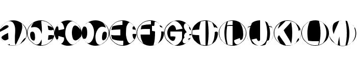 FriendlyFireBullets Font UPPERCASE