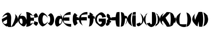 FriendlyFireBullets Font LOWERCASE