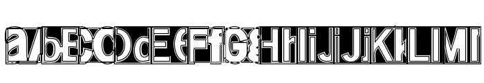 FriendlyFireMagic Font UPPERCASE