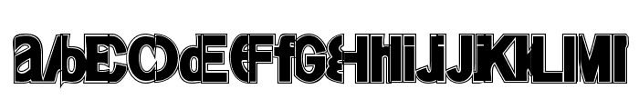FriendlyFireMagic Font LOWERCASE