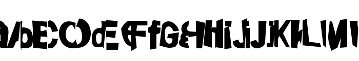 FriendlyFirePower Font LOWERCASE