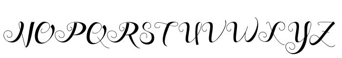 Friendsdavinci Font UPPERCASE