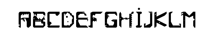 Frish Regular Font UPPERCASE