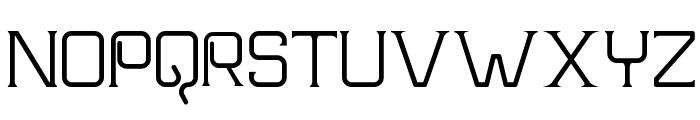Frission Font UPPERCASE