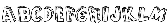 From Cartoon Blocks Font UPPERCASE
