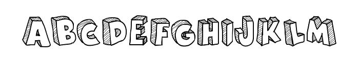 From Cartoon Blocks Font LOWERCASE