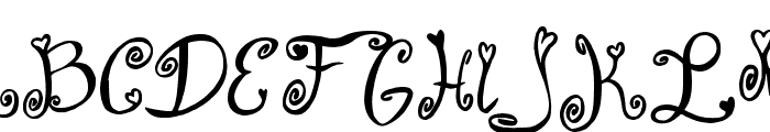 From Me 2 You Font UPPERCASE