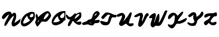 FromMomsHand Font UPPERCASE