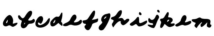 FromMomsHand Font LOWERCASE