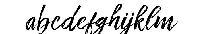 FronteScript Font LOWERCASE