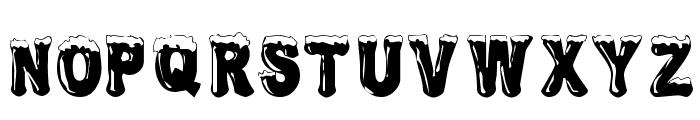 Frostbitten Wanker Font UPPERCASE