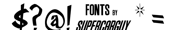 Frosty's Winterland Font OTHER CHARS