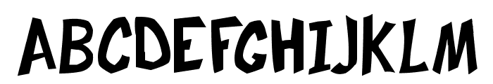 Frosty's Winterland Font UPPERCASE