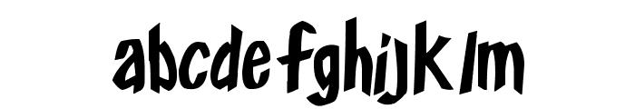Frosty's Winterland Font LOWERCASE