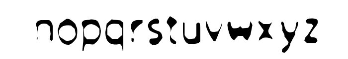 Froufrou Font LOWERCASE