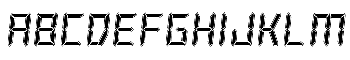 Frozen Crystal Academy Font LOWERCASE