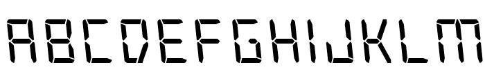 Frozen Crystal Leftalic Font LOWERCASE