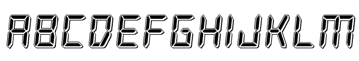 Frozen Crystal Punch Font LOWERCASE