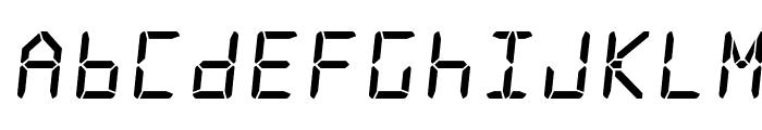 Frozen Crystal Font UPPERCASE