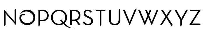 Frozen Neutra Font UPPERCASE