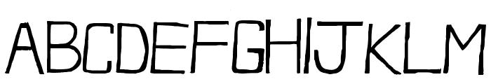 FrozenRita Font UPPERCASE