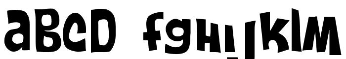 FruitForEars Medium Font UPPERCASE