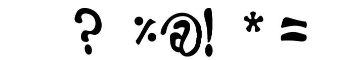 Fruitopia Font OTHER CHARS