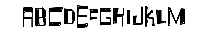 Fruity Drink Carbonated Font UPPERCASE