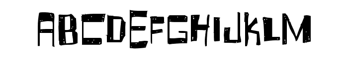 Fruity Drink Carbonated Font LOWERCASE