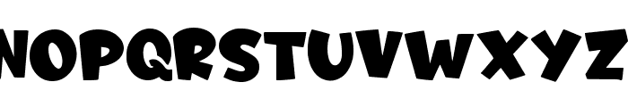 Fruitz -Personal Use Only- Font UPPERCASE
