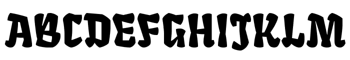 Fruktur Regular Font UPPERCASE