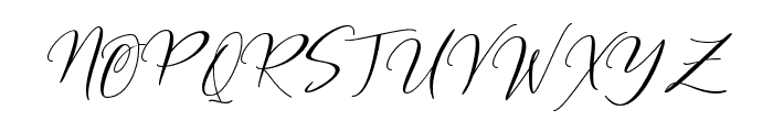 Frutilla Script Regular Font UPPERCASE