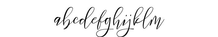 Frutilla Script Regular Font LOWERCASE